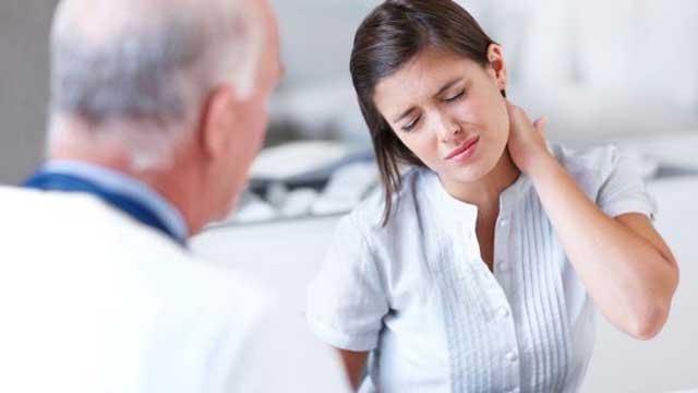 علائم گردن درد عصبی