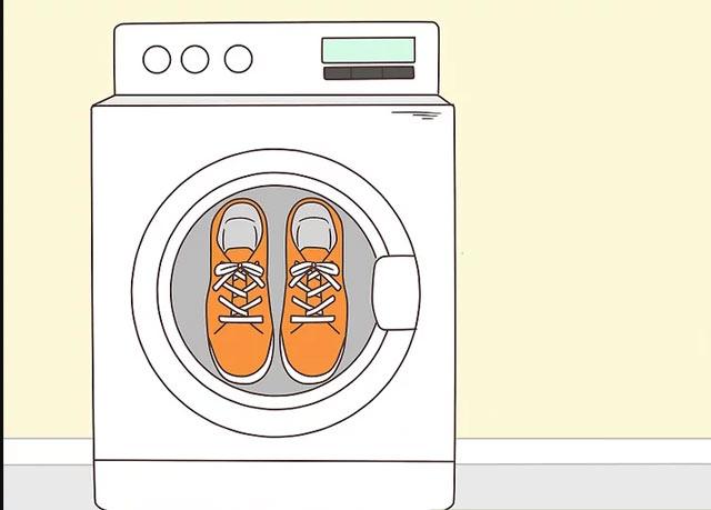 کفش های خود را بشویید.